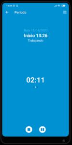 Control horario en QueryMobile