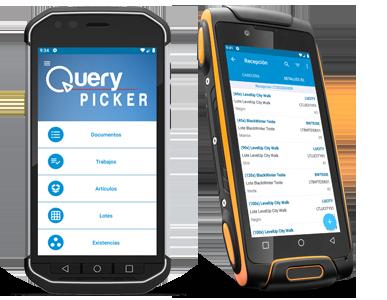 QueryPicker en smartphones rugerizados