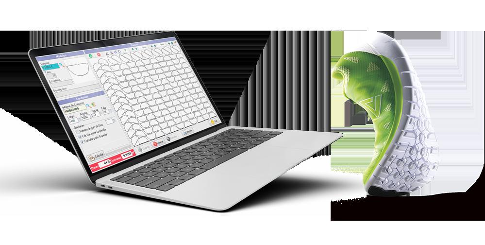 Troquel-IX en ordenador portátil
